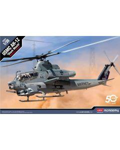 Academy 12127 USMC AH-1Z 'Shark Mouth' 1/35 Scale Plastic Model Kit Open Box