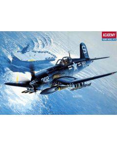 Academy 12267 F4U-4B Corsair Korean War 1/48 Scale Plastic Model Kit