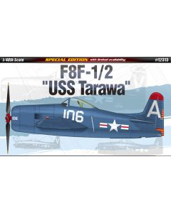 Academy 12313 F8F-1/2 Bearcat USS Tarawa 1/48 Scale Plastic Model Kit