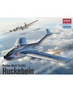 Academy 12327 Focke-Wulf Ta183 Huckebein 1/48 Scale Plastic Model Kit
