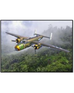 Academy 12328 USAAF B-25D Mitchell 'Pacific Theatre' 1/48 Scale Model Kit