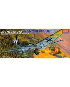 Academy 12404 Ju87G-2 Stuka Hans-Ulrich Rudel 1/72 Scale Plastic Model Kit