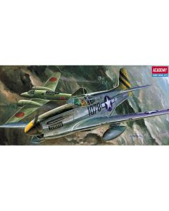 Academy 12441 P-51C Mustang 'Nose Art' 1/72 Scale Plastic Model Kit