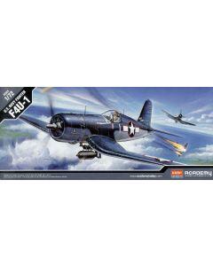 Academy 12457 Chance Vought F4U-1 Corsair 1/72 Scale Plastic Model Kit