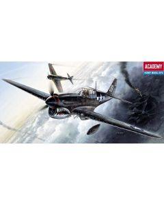 Academy 12465 Curtiss P-40M/N Warhawk 1/72 Scale Plastic Model Kit