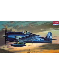 Academy 12481 Grumman F6F-3/5 Hellcat 1/72 Scale Plastic Model Kit