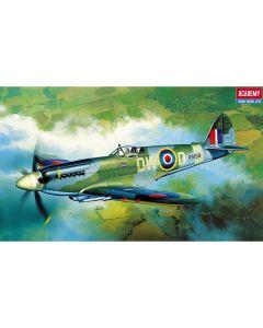 Academy 12484 Supermarine Spitfire Mk XIVc 1/72 Scale Plastic Model Kit
