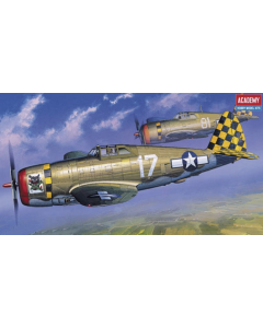 Academy 12492 Republic P-47D Thunderbolt 'Razorback' 1/72 Scale Model Kit