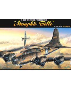 Academy 12495 Boeing B-17F 'Memphis Belle' 1/72 Scale Plastic Model Kit