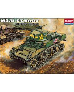 Academy 13269 M3A1 Stuart Light Tank 1/35 Scale Plastic Model Kit