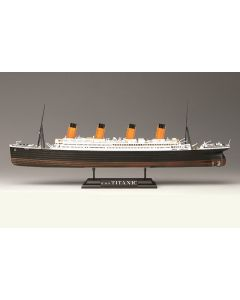Academy 14220 RMS Titanic 1/700 Scale Plastic Model Kit with LED Lighting Set