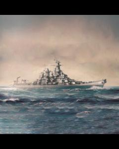 Academy 14222 US Battleship Missouri 1/700 Scale Plastic Model Kit