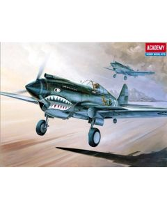 Academy 12280 P-40C Flying Tigers 1/48 Scale Plastic Model Kit