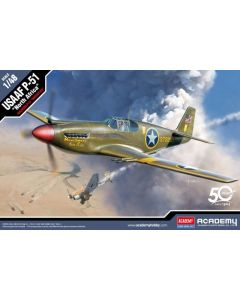 Academy 12338 USAAF P-51 Mustang 'North Africa' 1/48 Scale Plastic Model Kit