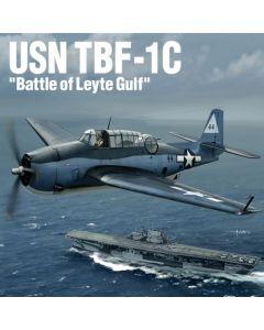 Academy 12340 TBF-1C Avenger 'Battle of Leyte Gulf' 1/48 Scale Plastic Model Kit