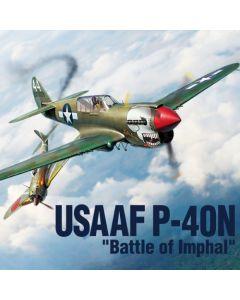 Academy 12341 USAAF P-40N 'Battle of Imphalf' 1/48 Scale Plastic Model Kit