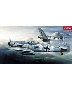 Academy 12467 Messerschmitt Bf109G-6 1/72 Scale Plastic Model Kit