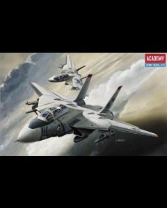 Academy 12608 US Navy Grumman F-14A Tomcat 1/144 Scale Plastic Model Kit