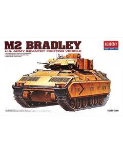 Academy 13237 M2 Bradley Infantry Fighting Vehicle 1/35 Scale Plastic Model Kit