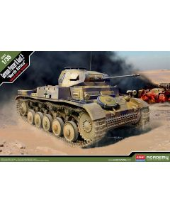 Academy 13535 Panzer II Ausf. F 'North Africa' 1/35 Scale Plastic Model Kit