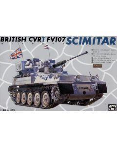 AFV Club 35013 FV107 Scimitar Armored Recon Vehicle 1/35 Scale Model Kit