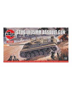 Airfix 01306V WWII German StuG III Assault Gun 1/76 Scale Plastic Model Kit