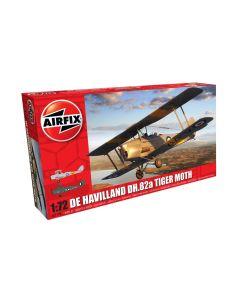 Airfix 02106 De Havilland Tiger Moth 1/72 Scale Plastic Model Kit