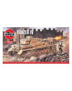 Airfix 02308V WWII German Panzer IV Medium Tank 1/76 Scale Plastic Model Kit