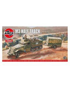 Airfix 02318V US M3A1 Half-track & Trailer 1/76 Scale Plastic Model Kit