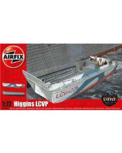 Airfix 02340 WWII Higgins LCVP Landing Craft 1/72 Scale Plastic Model Kit