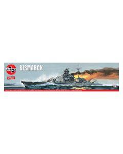 Airfix 04204V German Battleship Bismarck 1/600 Scale Plastic Model Kit