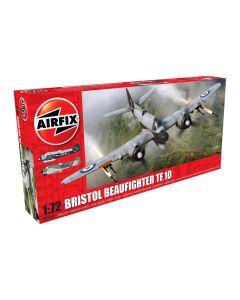 Airfix 05043 Bristol Beaufighter Mk.X Thimble Nose 1/72 Scale Plastic Model Kit