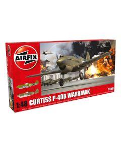 Airfix 05130 Curtiss P-40B Warhawk 1/48 Scale Plastic Model Kit