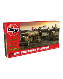 Airfix 06304 USAAF 8th Air Force Bomber Resupply 1/72 Scale Plastic Model Kit