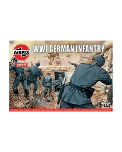 Airfix 00726V WWI German Army Infantry 1/72 Scale Plastic Model Figures