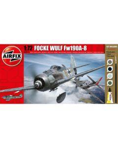 Airfix 68210M Focke-Wulf Fw190A 1/72 Scale Model Kit Starter Set