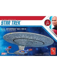 AMT 1126 Star Trek USS Enterprise NCC-1701-D 1/2500 Scale Model Kit