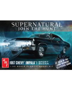 AMT 1124 Supernatural 1967 Impala 1/25 Scale Plastic Model Kit