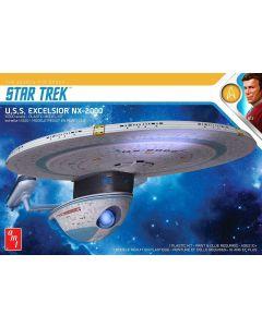 AMT 1257 Star Trek USS Excelsior 1/1000 Scale Model Kit