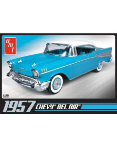 AMT 638 1957 Chevy Bel Air 1/25 Scale Plastic Model Kit