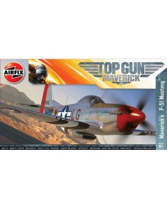 Airfix 00505 Top Gun P-51D 'Maverick' 1/72 Scale Plastic Model Kit