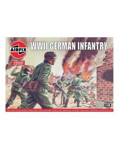 Airfix 00705V WWII German Infantry 1/76 Scale Plastic Model Kit