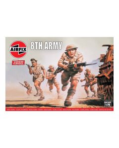 Airfix 00709V WWII British 8th Army 1/76 Scale Plastic Model Figures