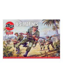 Airfix 00716V US Marines 1/76 Scale Plastic Model Figures