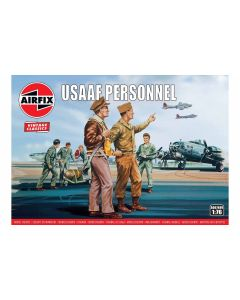 Airfix 00748V USAAF Personnel 1/76 Scale Plastic Model Figures