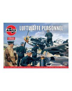 Airfix 00755V Luftwaffe Personnel 1/76 Scale Plastic Model Figures