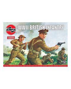 Airfix 00763V WWII British Infantry 1/76 Scale Plastic Model Figures