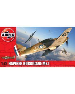 Airfix 01010A Hawker Hurricane Mk.I 1/72 Scale Plastic Model Kit