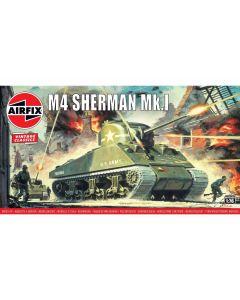 Airfix 01303V Sherman M4 Mkl 1/76 Scale Plastic Model Kit