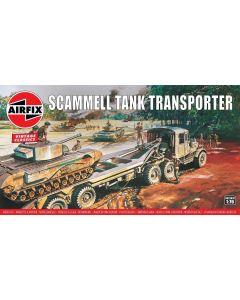 Airfix 02301V British Scammell Tank Transporter 1/76 Scale Plastic Model Kit